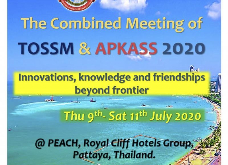 The Combined Meeting of TOSSM & APKASS 2020